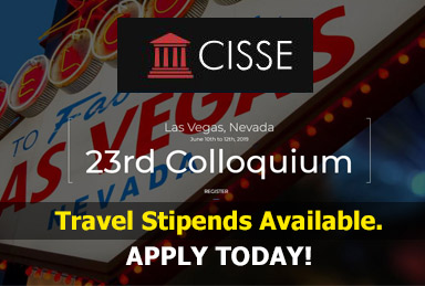 Travel stipends available for CISSE Colloquium